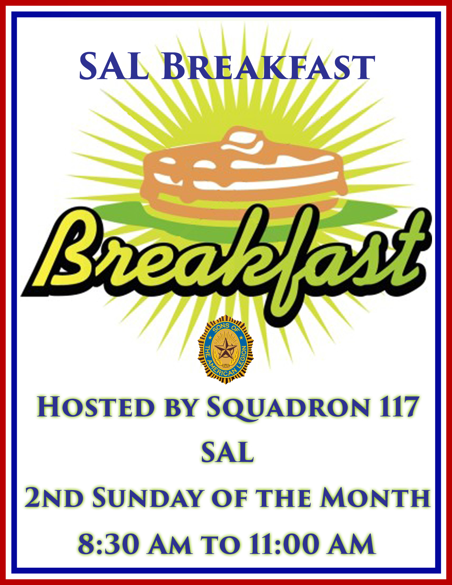Breakfast Hosted By The SAL