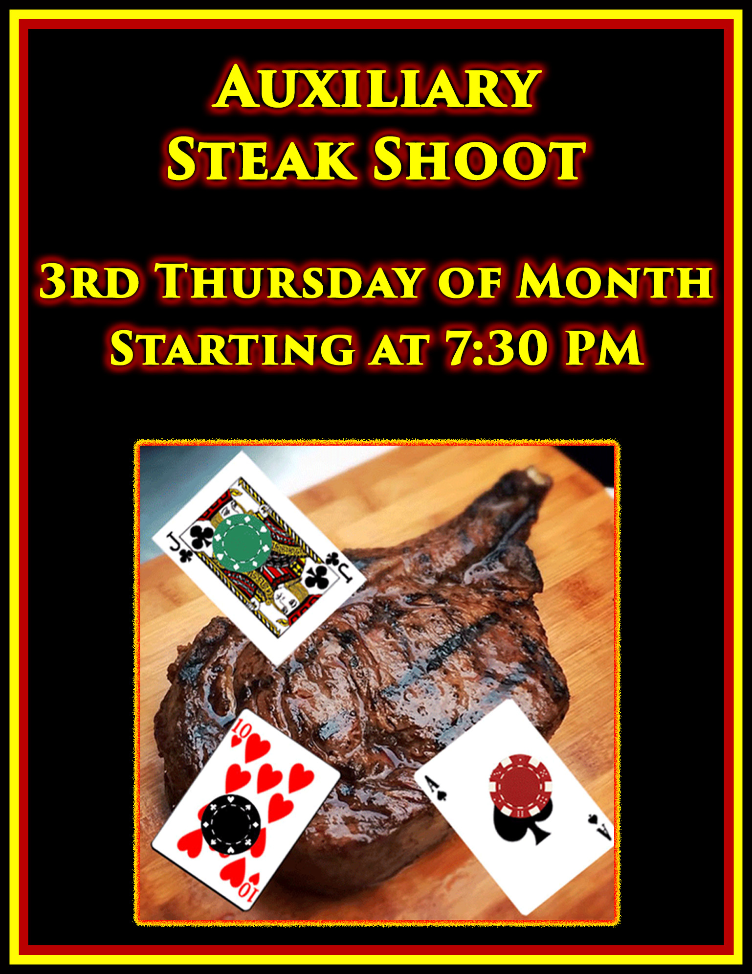 Auxiliary Steak Shoot @ American Legion Post 117 | Palm Bay | Florida | United States