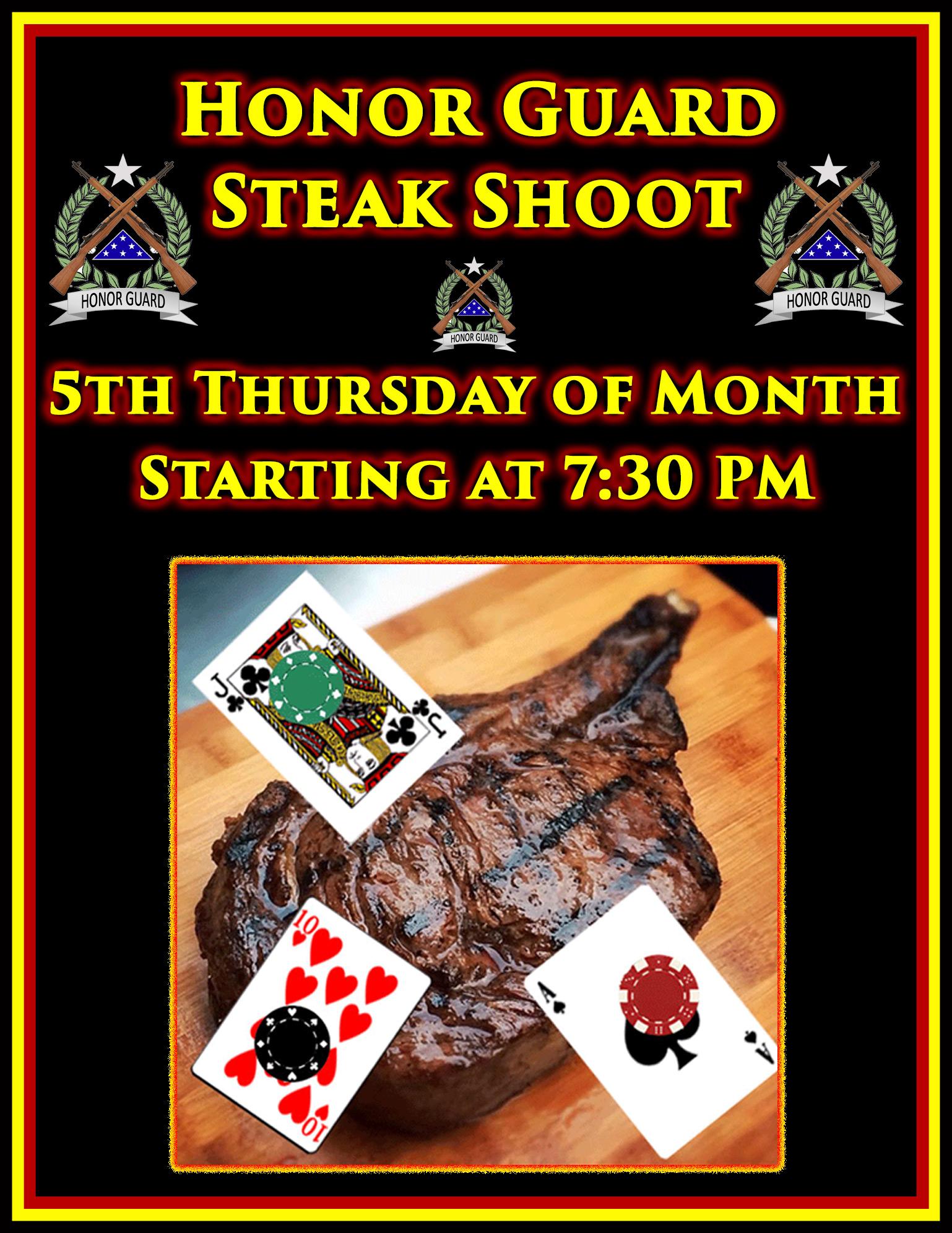 Honor Guard Steak Shoot @ American Legion Post 117   Palm Bay   Florida   United States