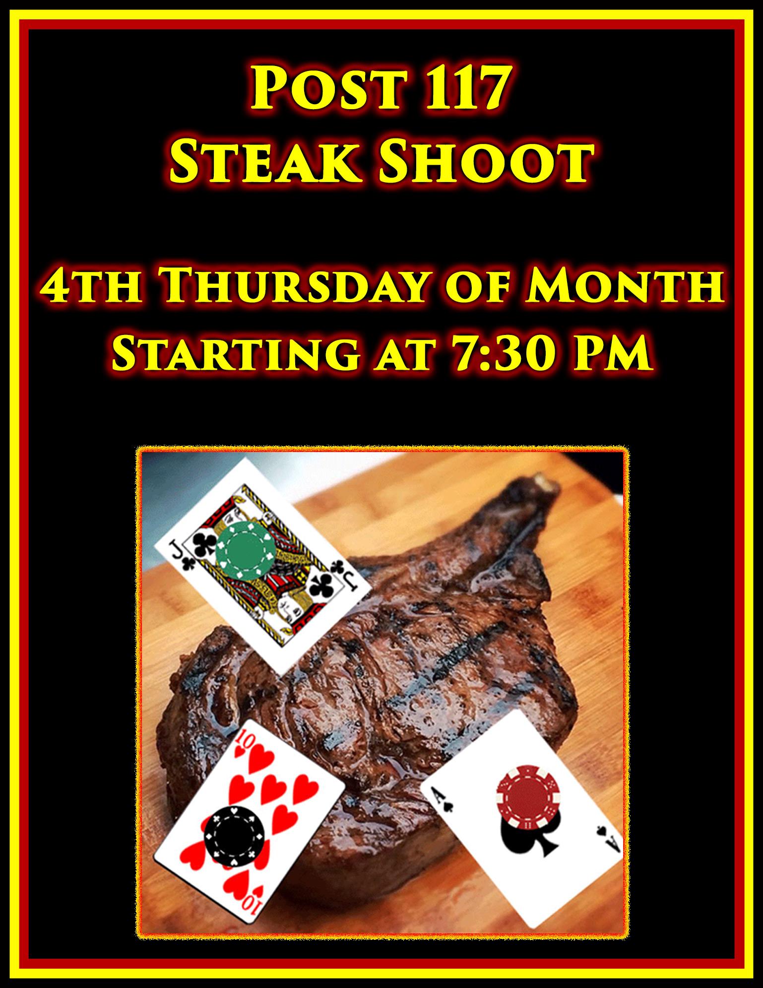 Post Steak Shoot @ American Legion Post 117 | Palm Bay | Florida | United States