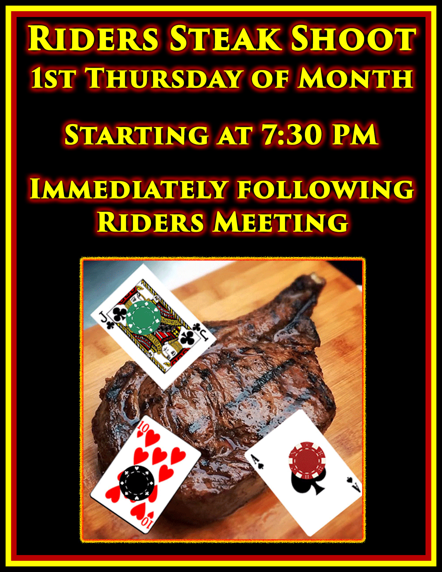 Riders Steak Shoot @ American Legion Post 117 | Palm Bay | Florida | United States