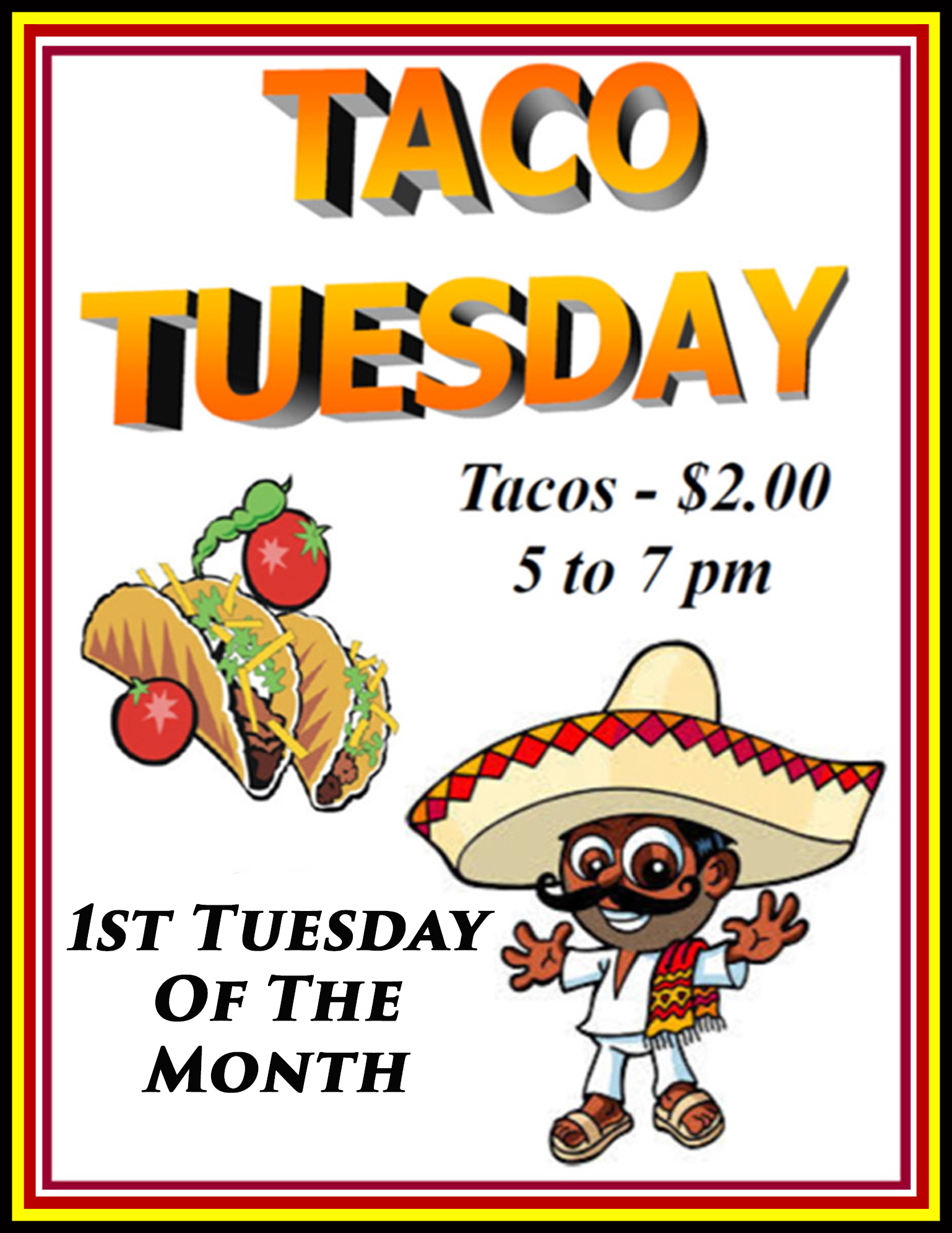 Taco Tuesday @ American Legion Post 117 | Palm Bay | Florida | United States